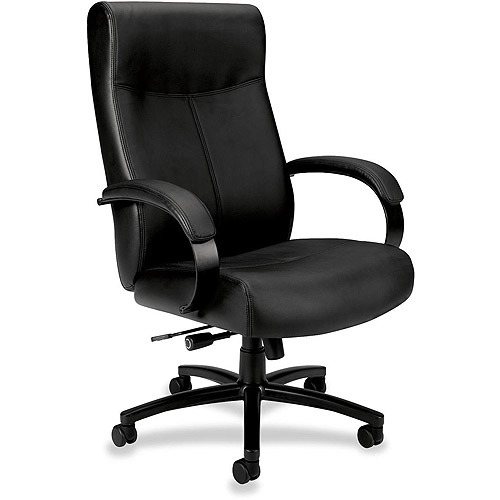 Basyx by HON Big & Tall High-Back Chair, Black
