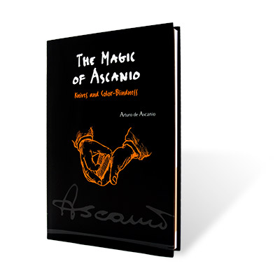 The Magic of Ascanio Book Vol. 4 Knives and Color Blindne...