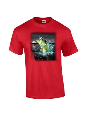 a94eb4c11 Product Image Bass in The Wilderness Adult T-Shirt