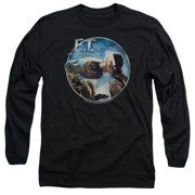 ET the Extra Terrestrial Gertie Kisses Mens Long Sleeve Shirt