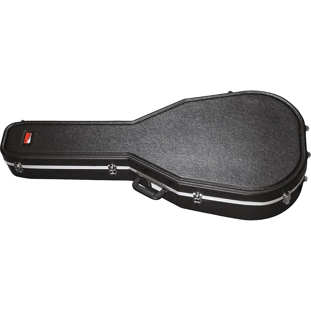 gator cases molded guitar jumbo acoustic guitar case. Black Bedroom Furniture Sets. Home Design Ideas