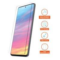 onn. Glass Screen Protector with ImpactGuard Technology for Samsung Galaxy A51, Samsung Galaxy A51 5G, Samsung Galaxy A51 5G UW