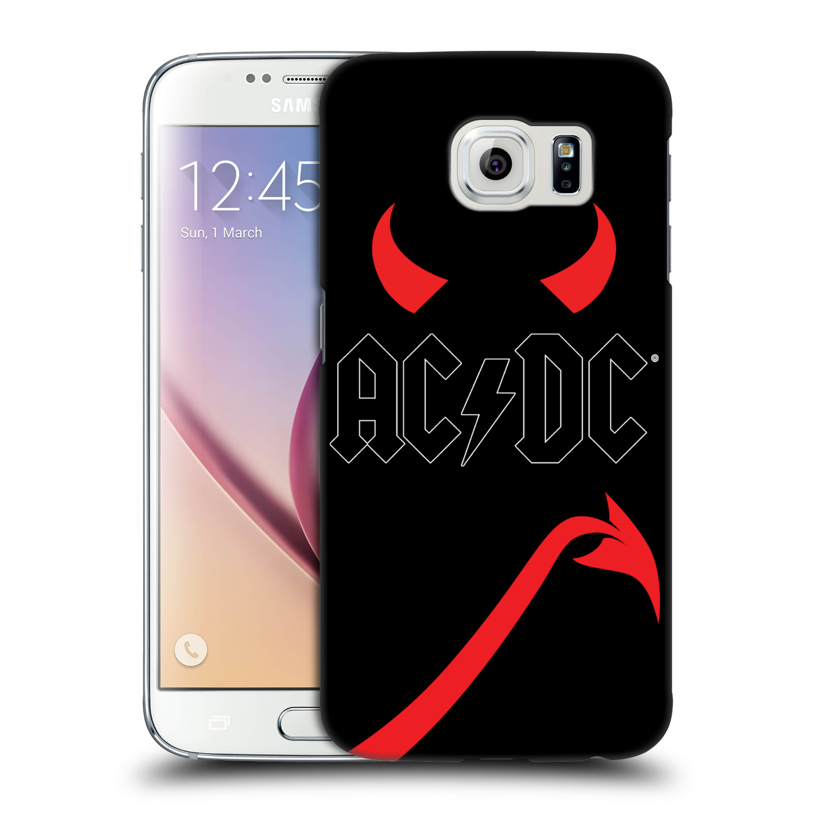 OFFICIAL AC/DC ACDC ICONIC HARD BACK CASE FOR SAMSUNG PHONES 1
