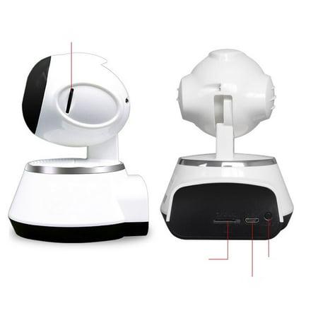 Wireless Home 1280*720 Resolution 360 Degree Rotating Camera 1 Million Dpi HD WIFI Livingroom Bedroom Video Recorder - image 5 of 6