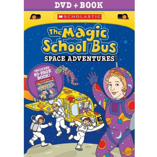 The Magic School Bus: Space Adventures (DVD   Book) (Full Frame)