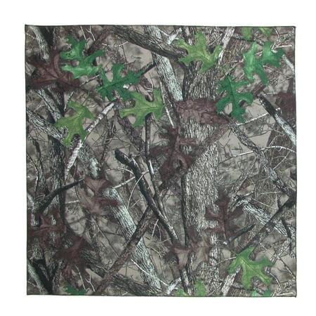 Size one size Cotton Camouflage Print Bandana, Brown](Brown Bandana)