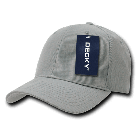 DECKY Curved Bill Acrylic Deluxe Baseball Cap, Style 207