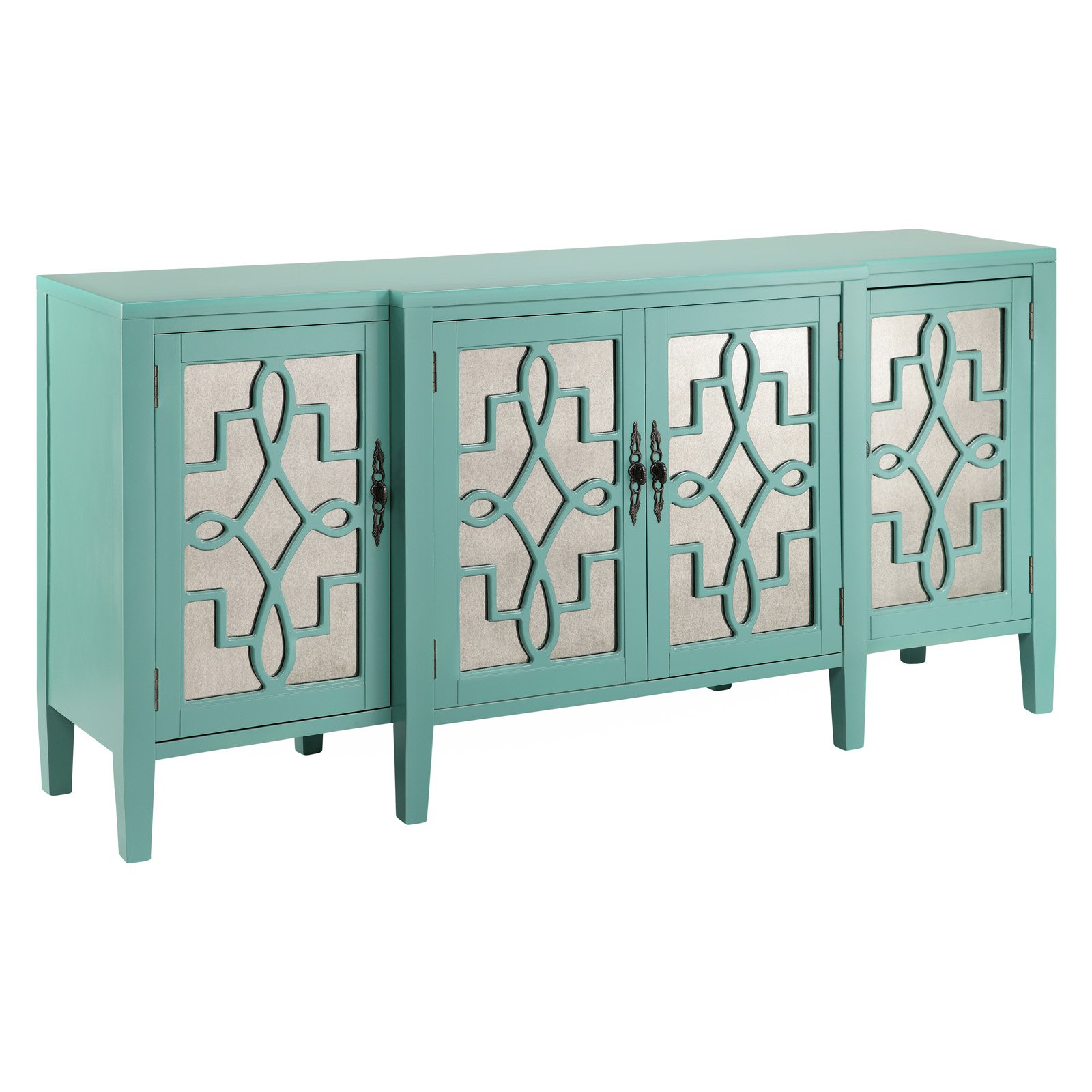 sc 1 st  Walmart & Stein World Lawrence Four Door Credenza - Walmart.com