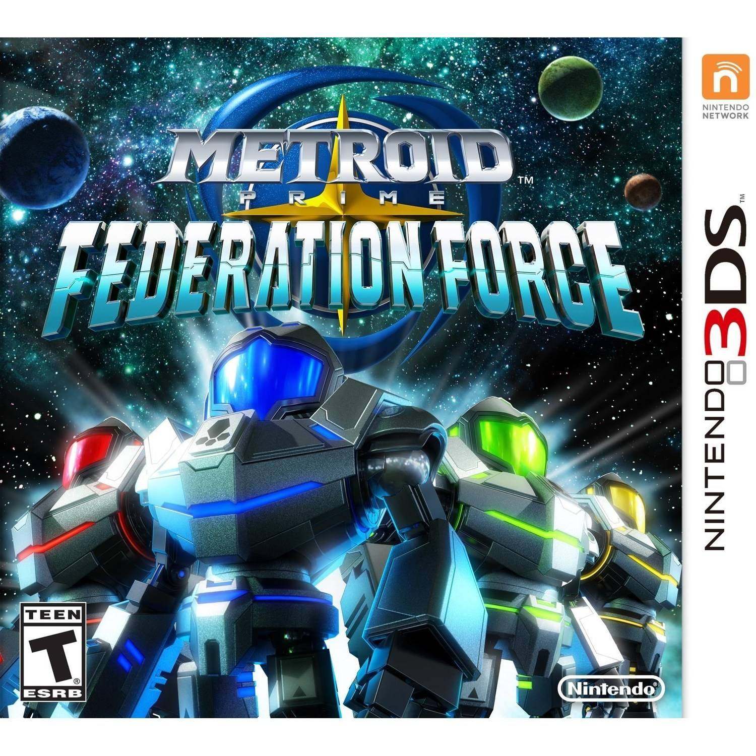 Metroid Prime Fed Force (Nintendo 3DS)