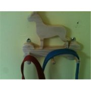 Fine Crafts 115ANI Wooden Great Dane Leash Holder