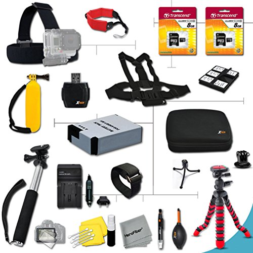 Xtech® Accessory Kit for GoPro HERO2 Hero 2 Digital Camer...