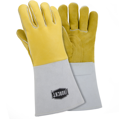 "IRONCAT Welding Gloves,Stick,14"",L,PR 9060/L"