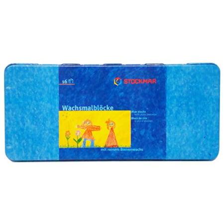 - Stockmar Beeswax Block Crayons, Set of 16