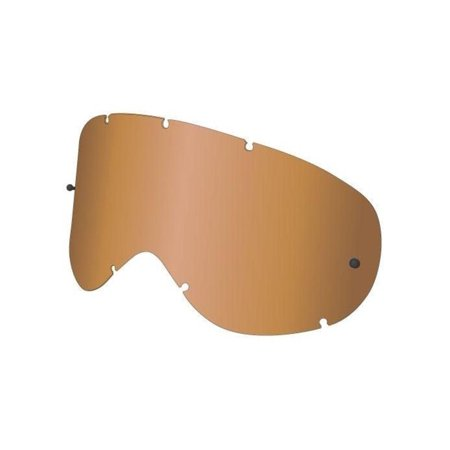Dragon Alliance 228136438700 Replacement All Weather Lens for MDX Snow Goggles - Amber
