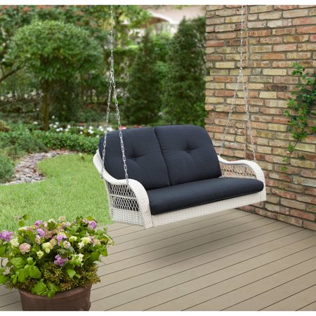 Better Homes And Garden Azalea Ridge Outdoor Porch Swing Seats 2 Com