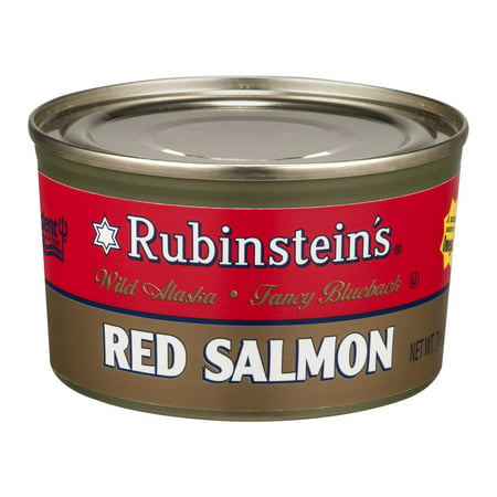 (2 Pack) Rubinstein's Wild Alaskan Red Salmon, 7.5 (Taste Of The Wild Pacific Stream Salmon)