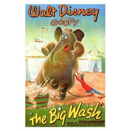 Posterazzi MOV250166 Big Wash Movie Poster - 11 x 17 in. - image 1 of 1