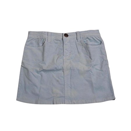 Corduroy Womens Skirt (Ave.blu - Big Girls Corduroy Skirt Lt Blue / 12 )