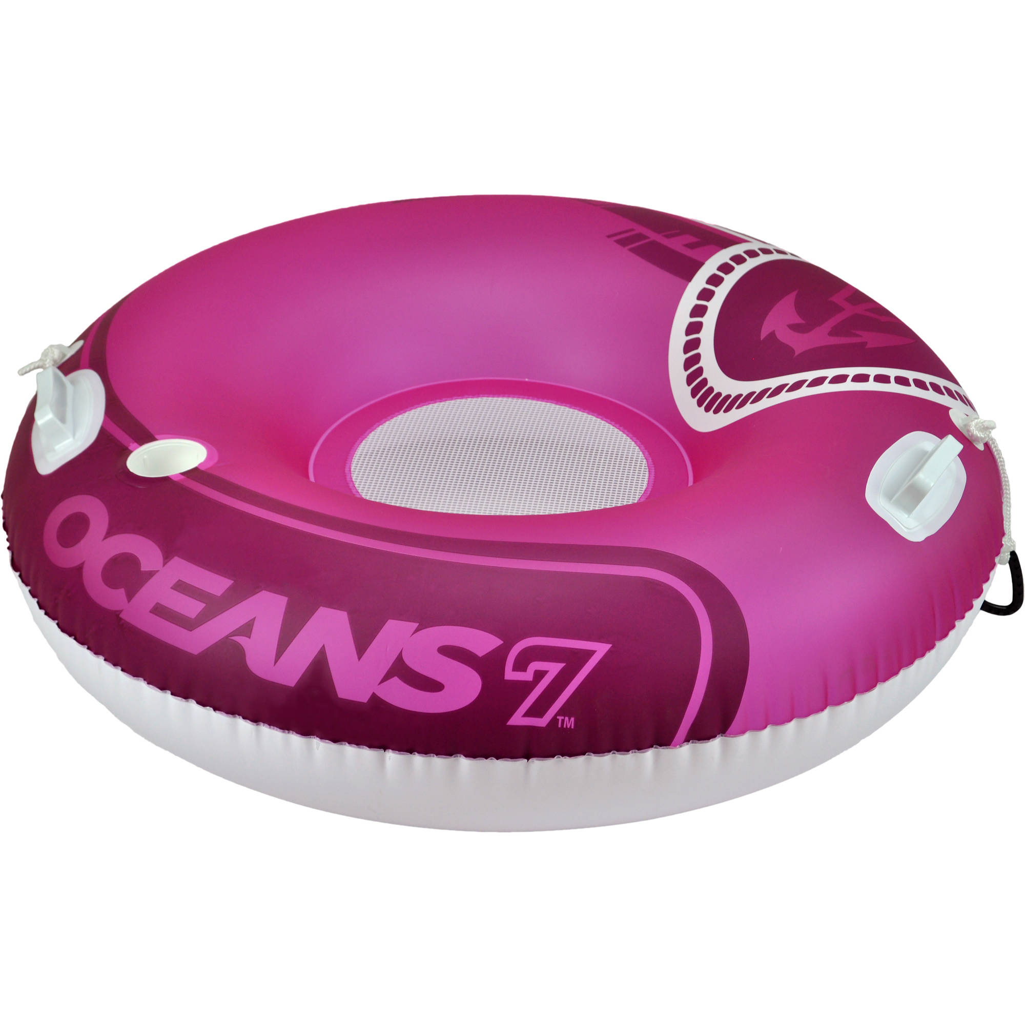 Oceans 7 Round River Tube, Pink