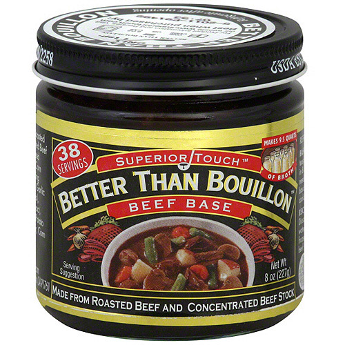 Superior Touch Better Than Bouillon Beef Base, 8 oz (Pack of 6)