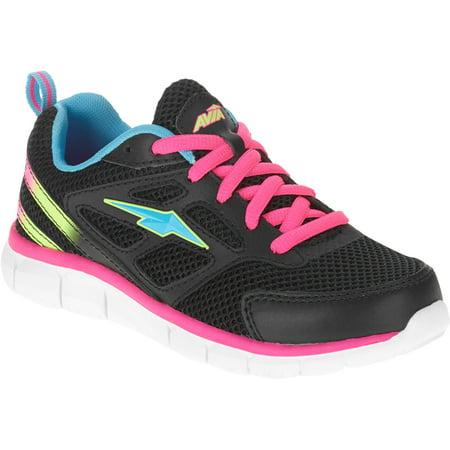 07a6a473d2202 Avia - Girl s Alarm Running Shoe - Walmart.com