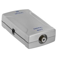 Optical Toslink Jack to Coaxial RCA Jack Digital Audio Converter