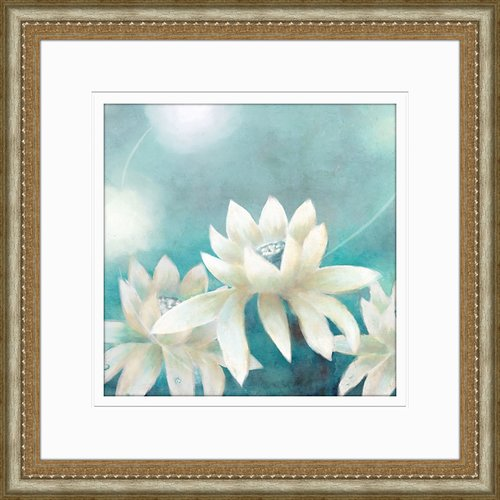PTM Images Lillies Framed Graphic Art