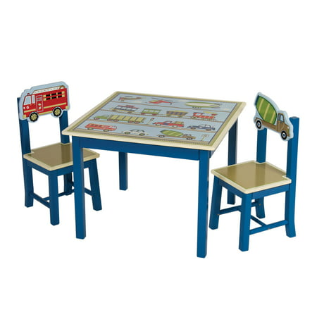 Guidecraft Moving All Around Kids Table And Chairs Set