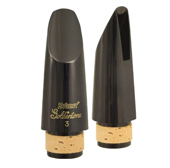 Selmer 77113 Goldtone #3 Bb Clarinet Mouthpiece by Selmer