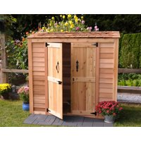 Outdoor Living Today GGC63SR Grand Garden Chalet 6 x 3 ft. Storage Shed