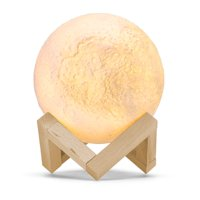 Kohree Moon Lamp, LED Moon Light 3D Printing Night Light Dimmable Rechargeable Home Decorative Lights