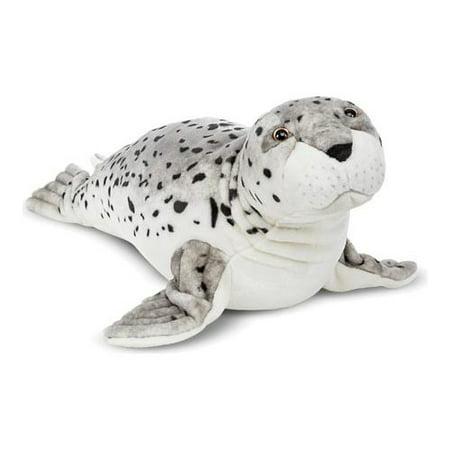 Melissa & Doug Giant Seal - Lifelike Stuffed Animal (nearly 3 feet long)](Stuffed Seal)