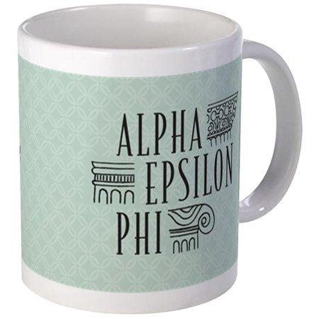 CafePress - Alpha Epsilon Phi Logo Letters Mug - Unique Coffee Mug, Coffee Cup CafePress