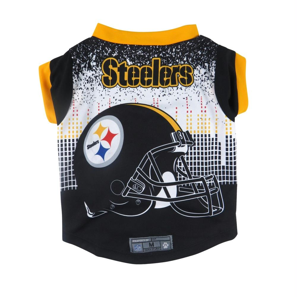 Pittsburgh Steelers Pet Performance Tee - X-Small