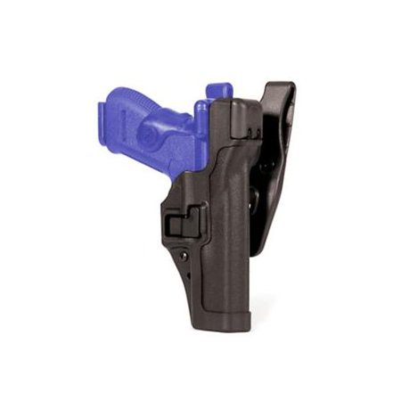 Blackhawk SERPA Level 3 ALS Duty Holster, Right Hand, Black, Matte - Walther P99