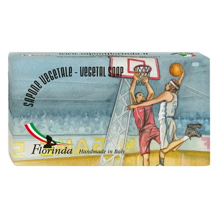 Soap Balls (Florinda Sports and Spices Amber Vegetal Soap Bar Basketball 100g 3.5oz )