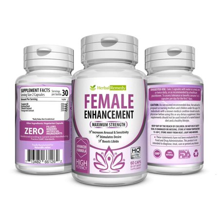 Natural Herbal Female Desire Supplement - Magic Pill for Women Testosterone Booster, Increase Stamina & Energy, Boosts Bed Drive & Prevent Vaginal Dryness 100% Organic Women Supplements 60 Veggie