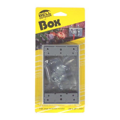 HubbellRaco Single Gang Weatherproof Box