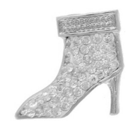 18mm Snap Charm Button Interchangeable Jewelry High Heel - Interchangeable Boots