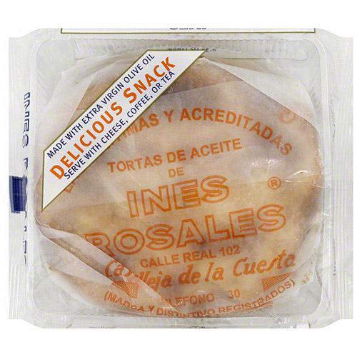 Ines Rosales Sweet Olive Oil Tortas, 6.34 oz (Pack of 10)