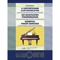 Essential Finger Exercises : Piano