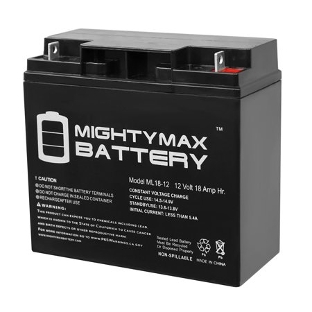 ML18-12 - 12V 18AH M6/T6 Audio System Battery Replaces Odyssey PC680