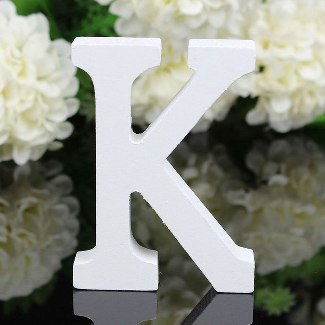 Wedding Birthday Party Plywood Decoration English K Letter Alphabet DIY Wall - image 1 of 4