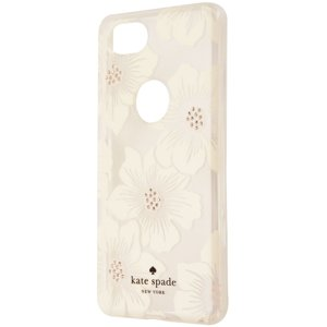 Kate Spade New York Hardshell Case for Google Pixel 2 - Clear|White Flowers