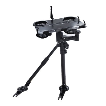 AA Products Car Under Seat Installation Laptop Stand With Ball-Head (Non-Drilling Bracket and Aluminum Supporting Arm Included) (K002-AS)
