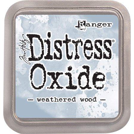 TDO-56331 Tim Holtz Distress Oxides Ink Pad-Weathered Wood,, Tim Holtz Ranger-Distress Oxides Ink Pad By Ranger