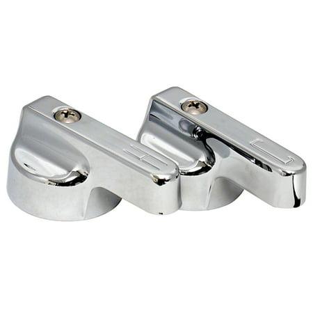 Valterra PF287006 Replacement Metal Lever Handles - Chrome, Pair (Replacement Metal Lever Handle)