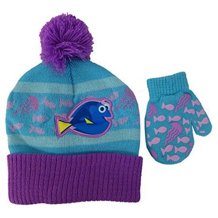 Disney Finding Dory Girls Hat and Mitten Set - Toddler [4013]