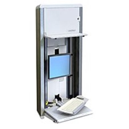 Refurbished Ergotron StyleView VL 60-595-062 Vertical Lift PC Enclosure System for 22-inch Display Screen