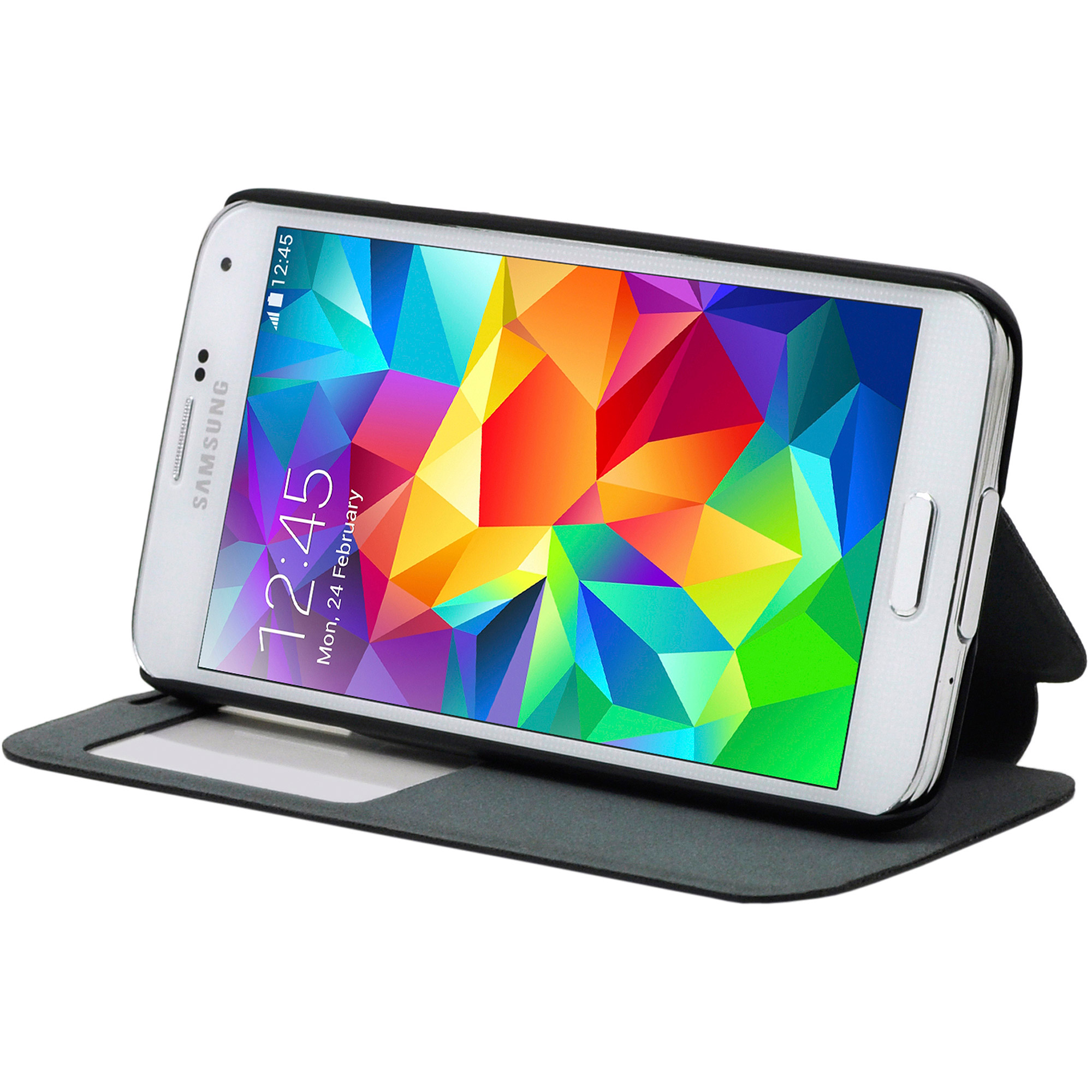 Cirago Smart-View Stand Case for Galaxy S5